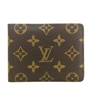 Louis Vuitton Monogram Men's Wallet+Box / D. Bag